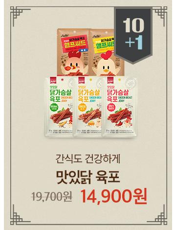 육포 & 오구칩